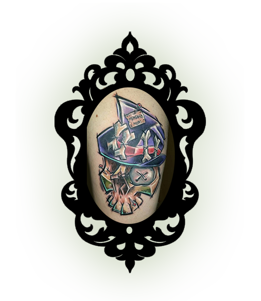 gray silva tattoo