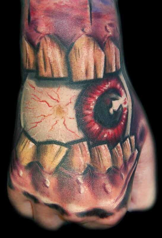 Brendan's Hand Tattoo