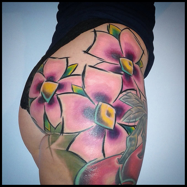 Claire Cherry Blossom Tattoo