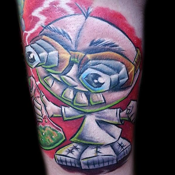 Dr Frankenstein Tattoo