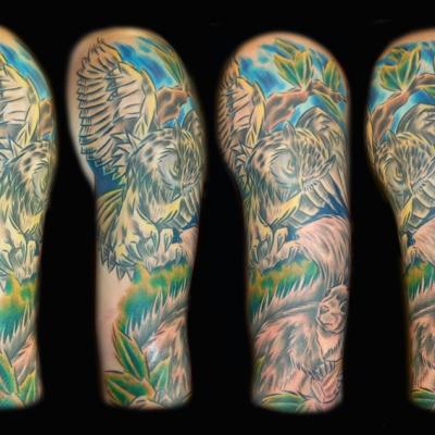Ed Owl by Gray Silva - Rampant Ink