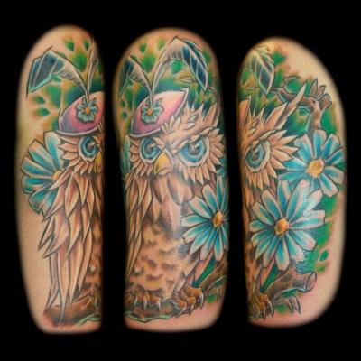 Emma Owl Tattoo