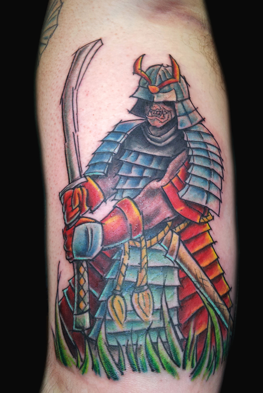 Joe Samurai Tattoo
