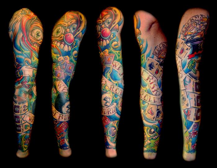 Luke's Sleeve by Gray Silva - Rampant Ink