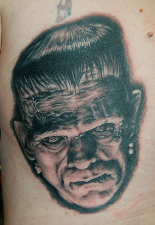 Morgyn's Frankenstein Tattoo