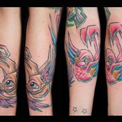 Nicola Swallows Tattoo