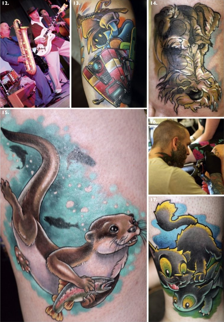 total tattoo robin hood festival